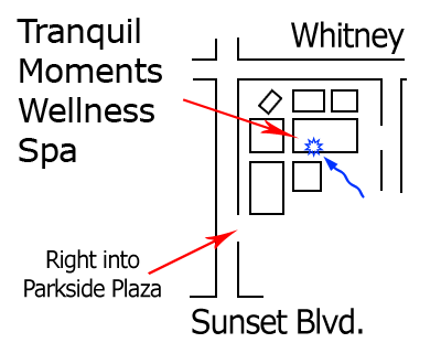 Tranquil Moments Spa Location